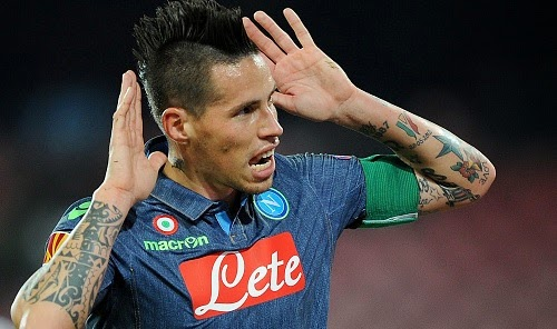 Arsenal and Manchester United to fight for Marek Hamsik