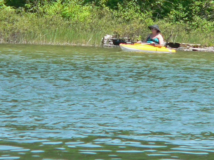 May 2011 Barbara kayaking