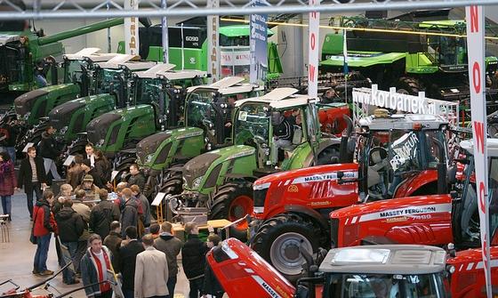 Polagra 2012 - Ciągniki rolnicze