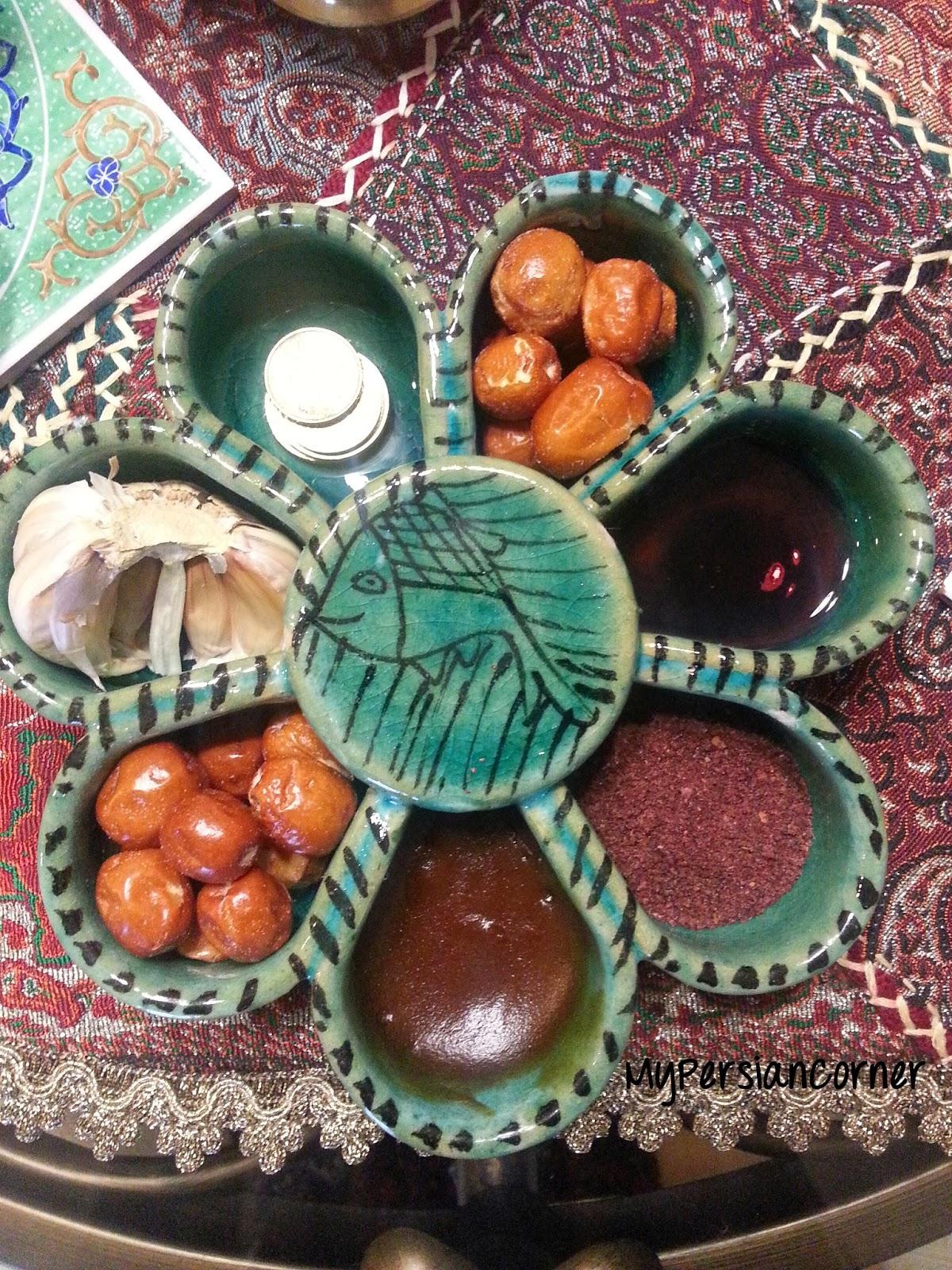 My Persian Corner: Iranian Nowruz- Haft Seen Table Persian Haft Seen