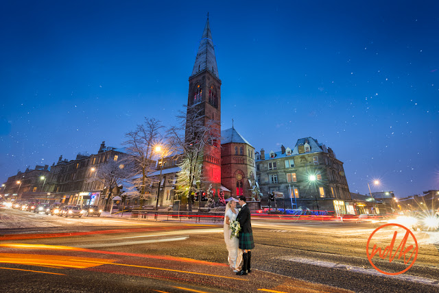 Oran Mor Glasgow Wedding Photography