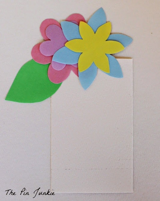 Spring Flower Pot Card DIY