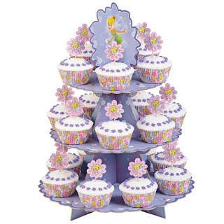 Tinkerbell Birthday Cupcakes Designs