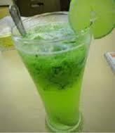resep membuat minuman es serbat melon