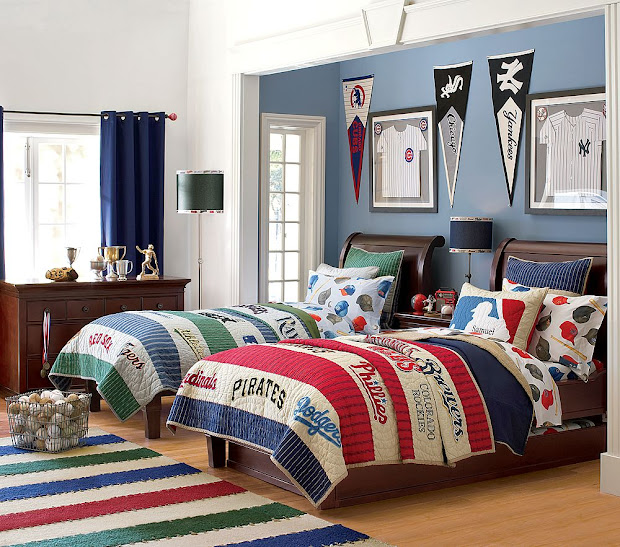 Boys Sports Room Ideas for Bedroom