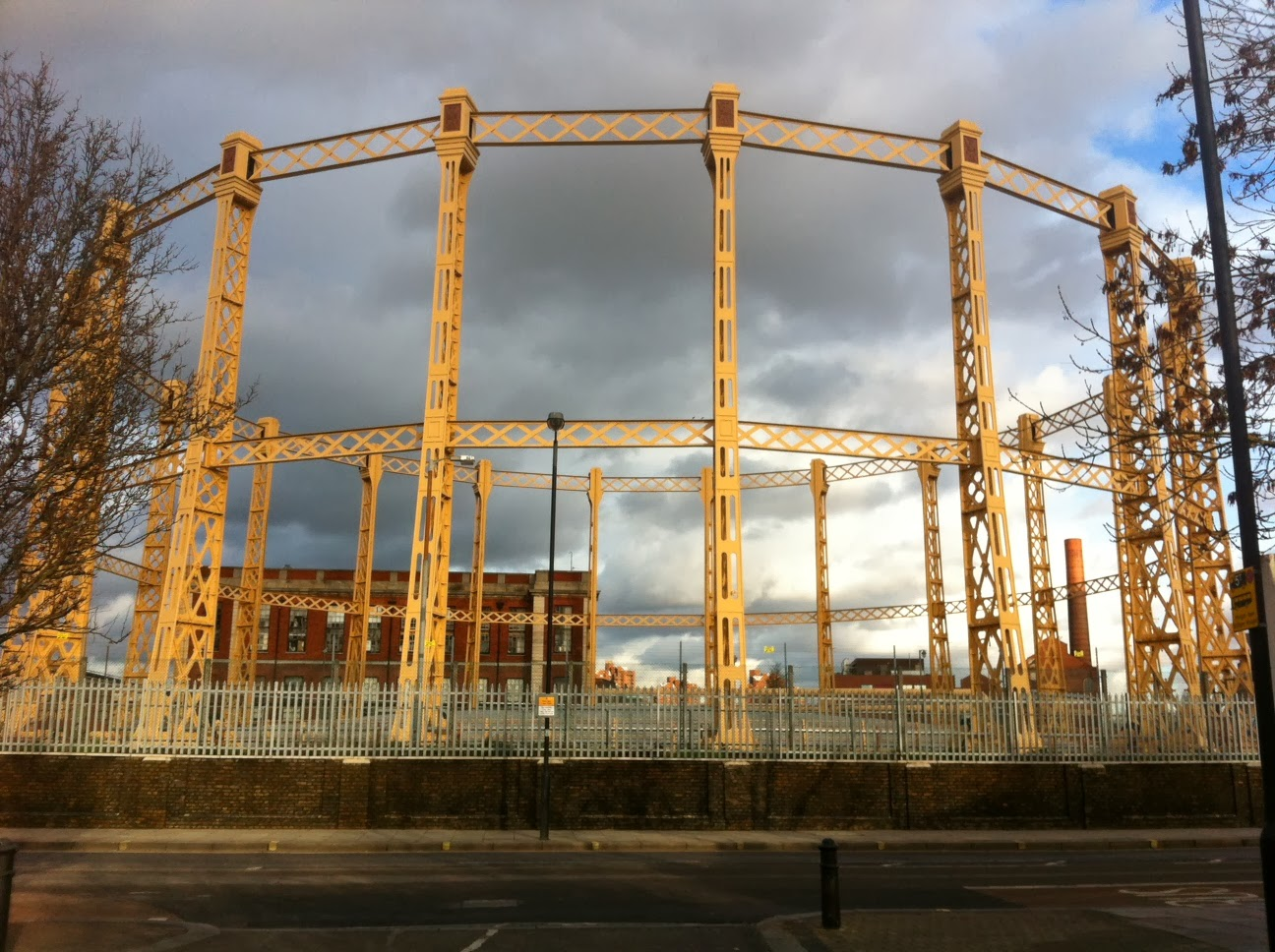 Imperial Gas Works, Imperial Wharf, London