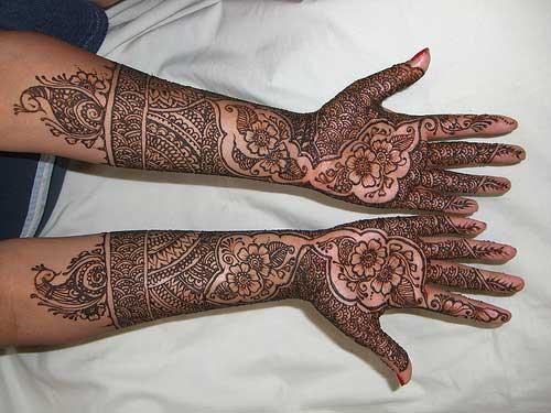 Full Arm Mehndi Designs : Water color picture: arabic arm mehndi designs