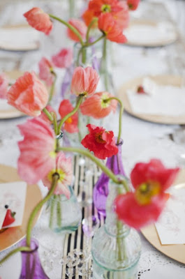 Wild flower table decoration 1