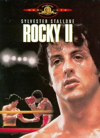 Rocky 2 - Starring Sylvester Stallone, Talia Shire, Carl Weathers and Burt Young - Released in 1979