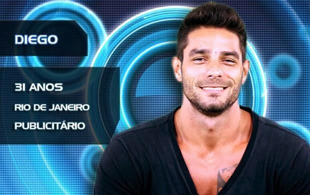 Lista de Participantes BBB14 - Participante Diego