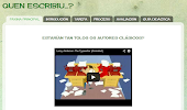 WebQuest Autores