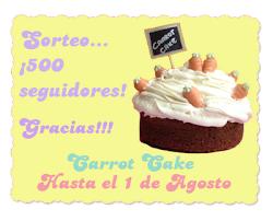 Sorteo Carrot Cake