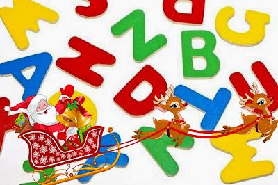 Alfabetul Craciunului pentru copii