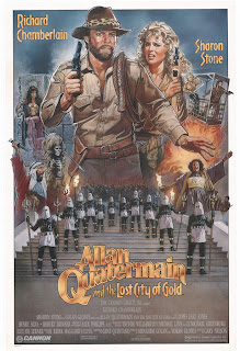 Poster for Allan Quatermain and the Lost City of Gold (1987)