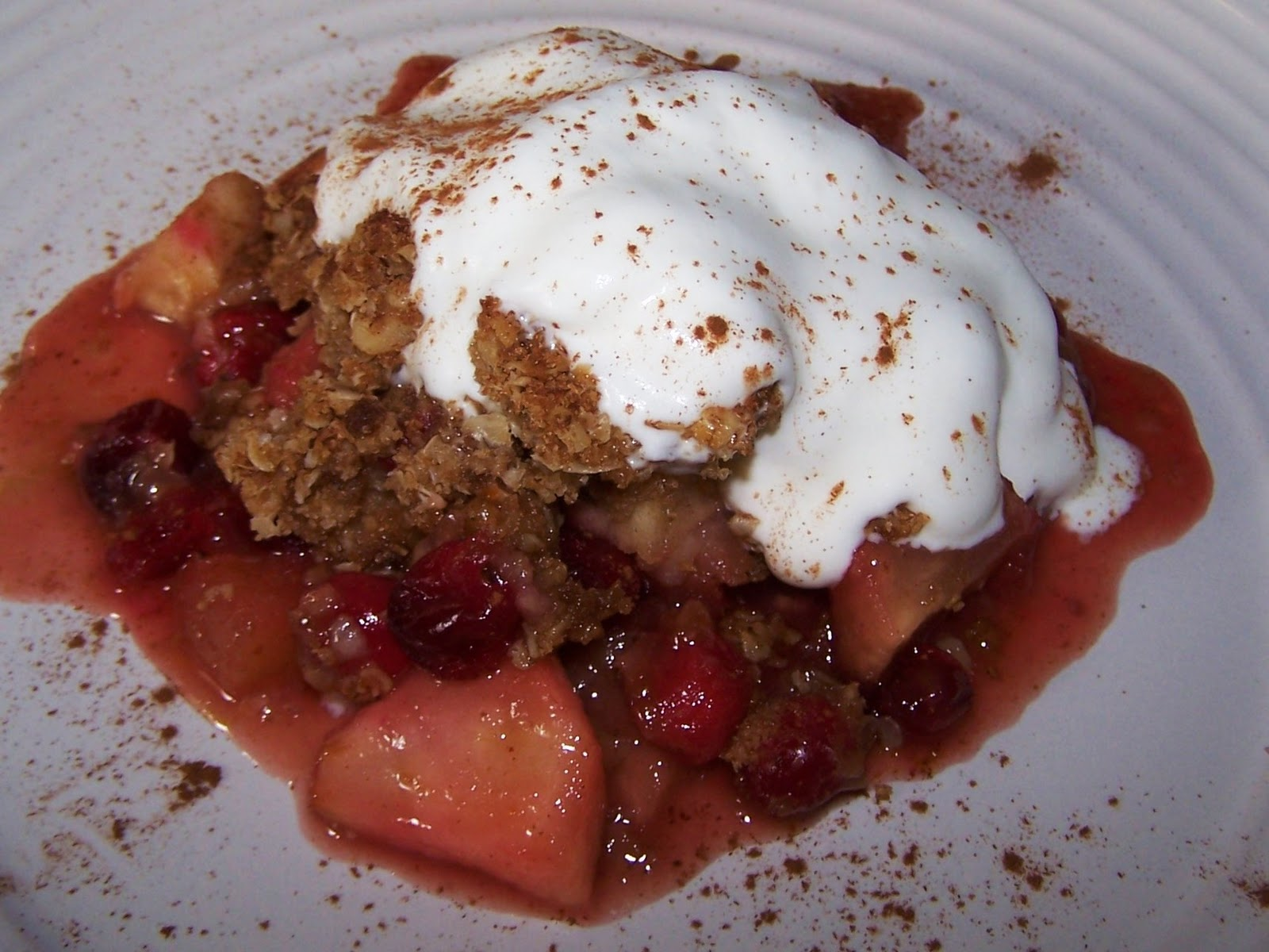 EZ Gluten Free: Apple Cranberry Crumble