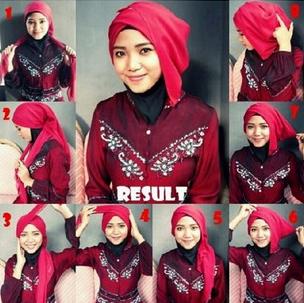 Action  4. Tips Model Hijab Modern untuk Wisuda 2015