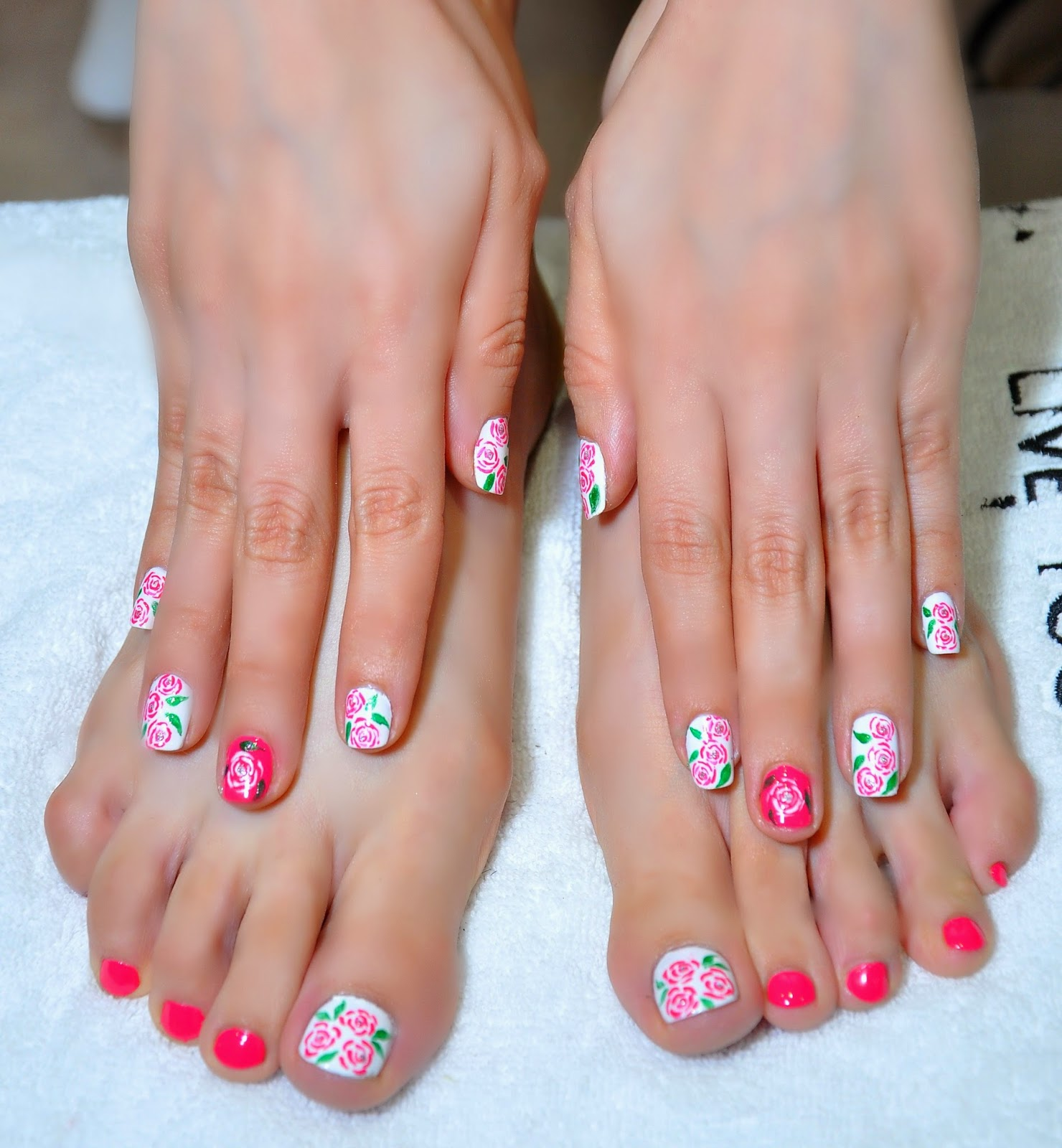 Roses Art Manicure & Pedicure by LYN Nails