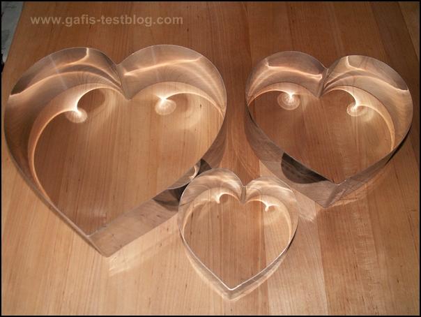 Herzbackformen von Lares