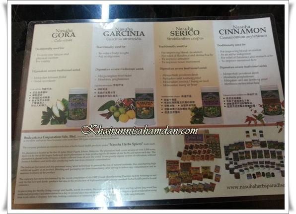 tempat makan best johor restoran herba nasuha| Nasuha Resort