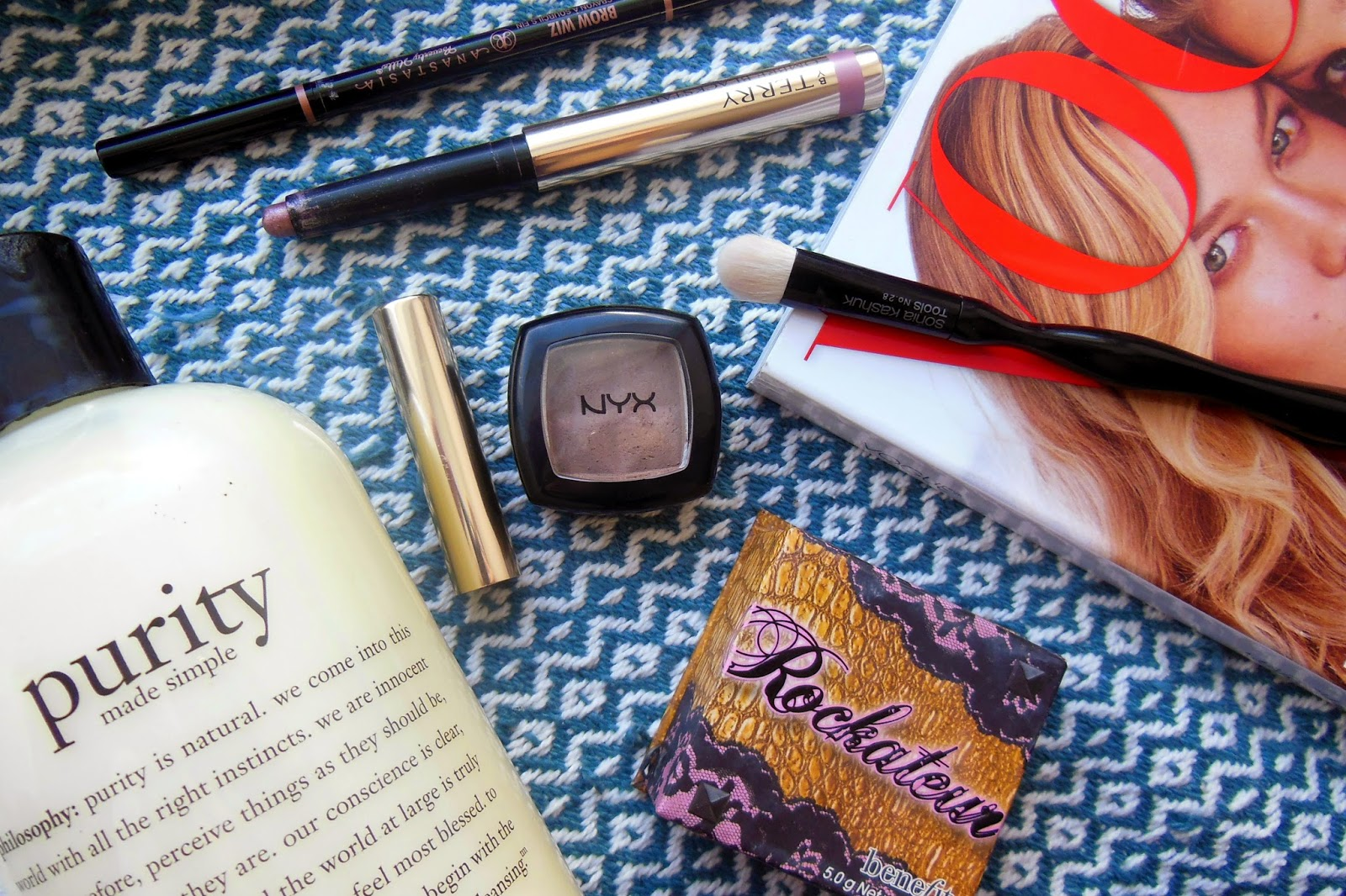 Canadian Beauty Blogger Product Reviews Swatches Sephora Smoky Eye Urban Decay Naked Palette Benefit By Terry Anastasia Brow Whiz