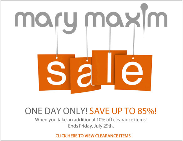 Apply the Mary Maxim Coupon at check out to get the discount immediately. Don't forget to try all the Mary Maxim Coupons to get the biggest discount. To give the most up-to-date Mary Maxim Coupons, our dedicated editors put great effort to update the discount .