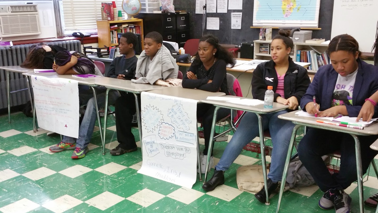 Facing History and Ourselves at New Haven Academy