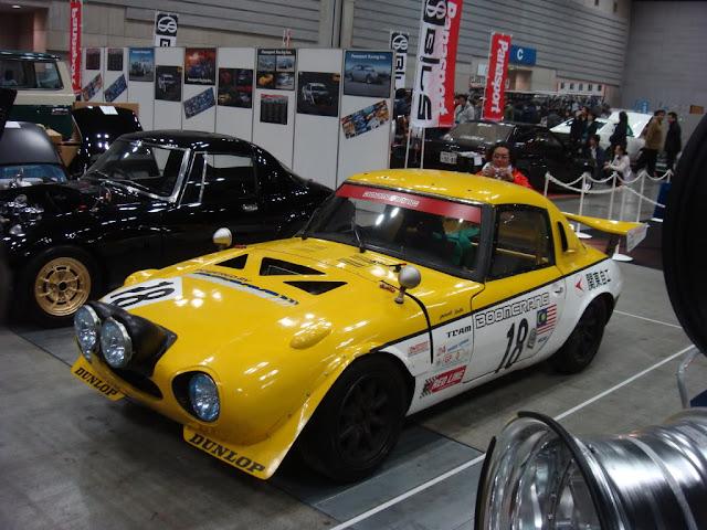 Toyota S800 stary japoński samochód oldschool klasyk sportowy coupe