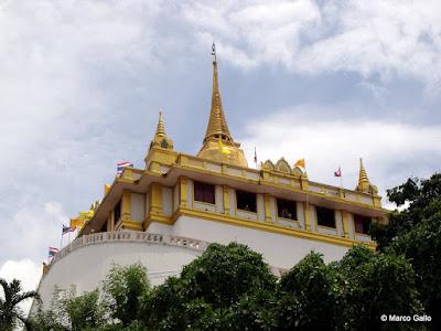 WAT SAKET, TEMPLO DE LA MONTAÑA DORADA, BANGKOK. TAILANDIA