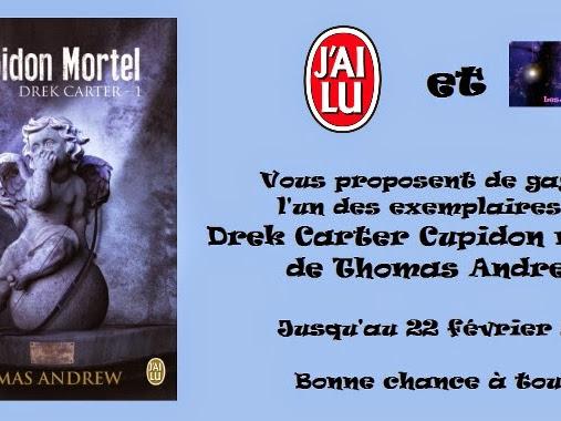 [Concours] Drek Carter T1 de Thomas Andrew - jusqu'au 22 février