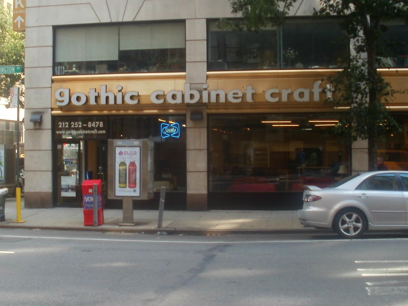 Gothic Cabinent Crafts