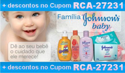 Cupom Efácil - Johnson's Baby com Desconto