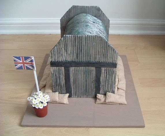 Nothing Is Impossible.....: Model of a WWII Air Raid Shelter