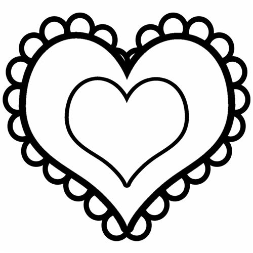 Beautiful Valentine's Day Hearts Clipart