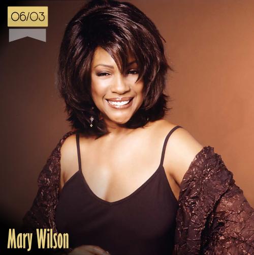 6 de marzo | Mary Wilson - @MWilsonSupreme | Info + vídeos
