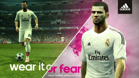 PES 2013 Real Madrid 2014-15 Full GDB Kits by berikbolatuly
