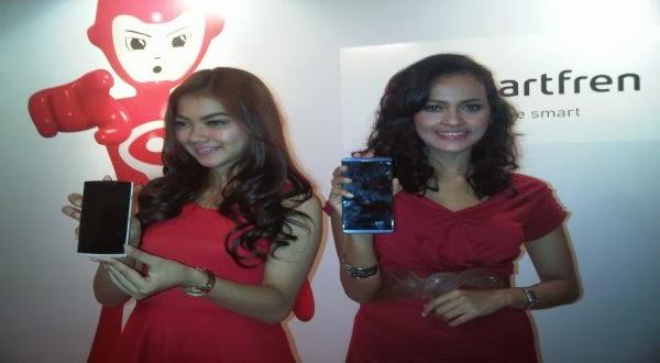 Smartfren Hadirkan Ragam Smartphone Android Baru