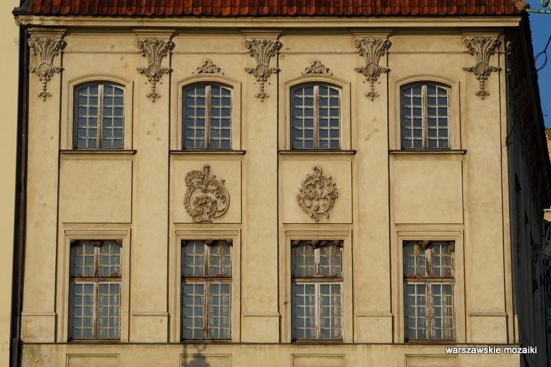 Warszawa Stare Miasto fasada Śródmieście zabytek Plac Zamkowy
