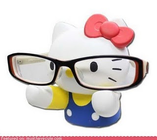 Hello Kitty cute glasses holder