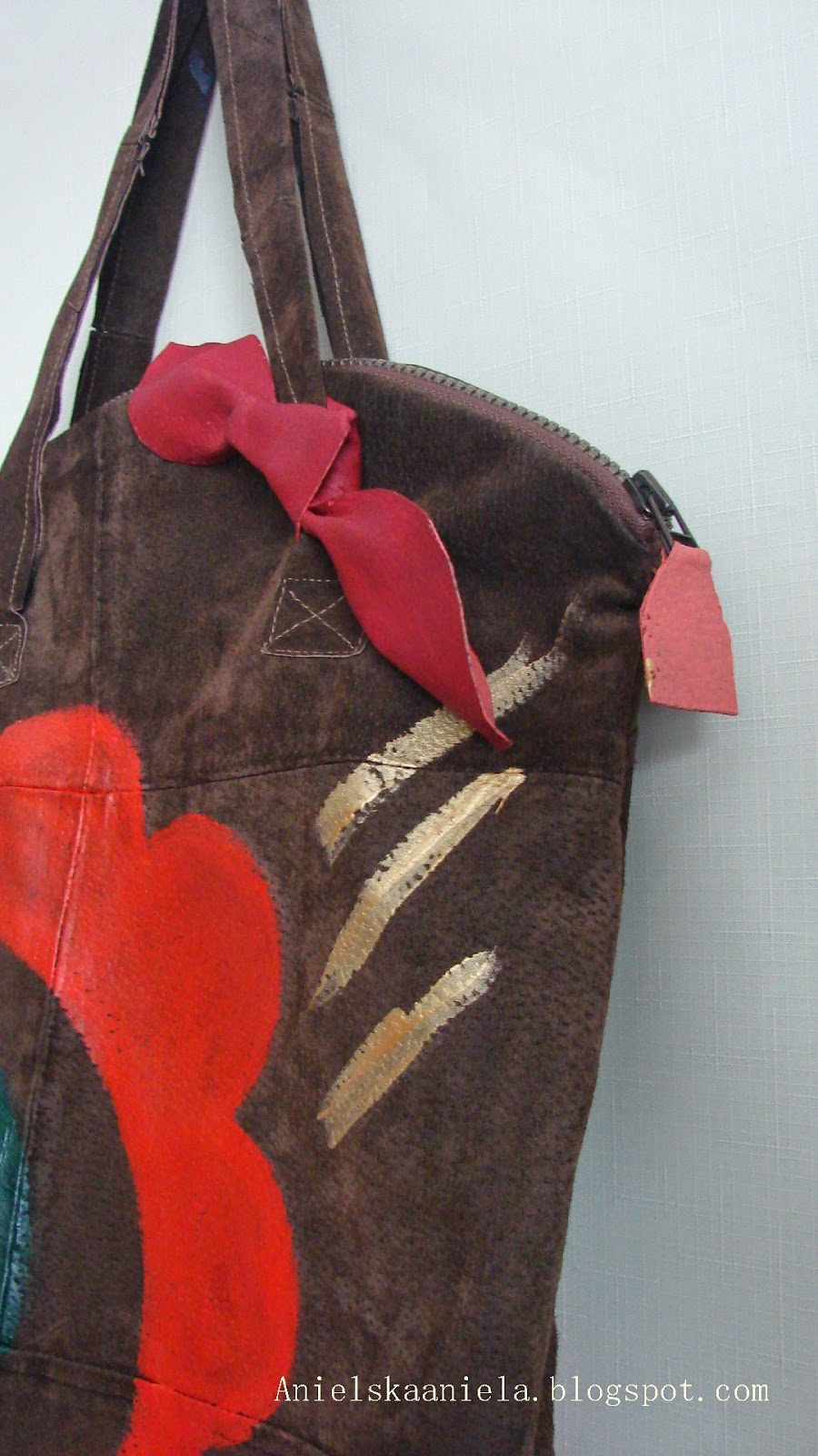 DIY Burberry Prorsum inspired leather handbag skórzana torebka z recyclingu inspirowana Burberry diy