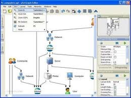 Free Download yED Graph Editor | Aplikasi pembuat gambar Graphic atau Diagram