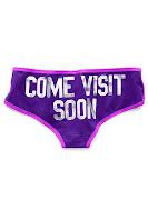 ven a visitarme pronto!