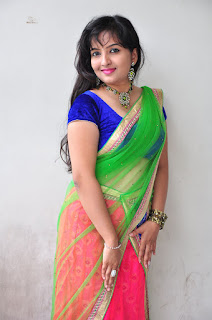 New actress Roshini half saree Picture shoot 032.jpg