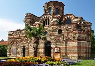 Gereja Tua Di Nessebar, Bulgaria