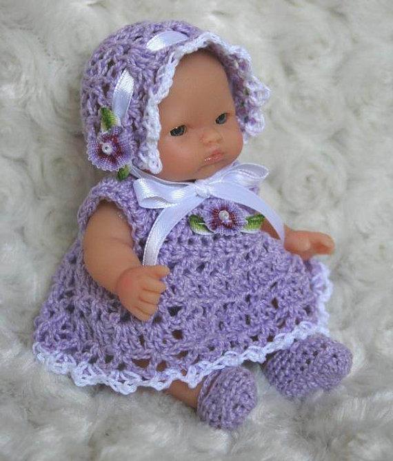 Famosos Roupas de boneca em crochê - Ateliê do Crochê VU76