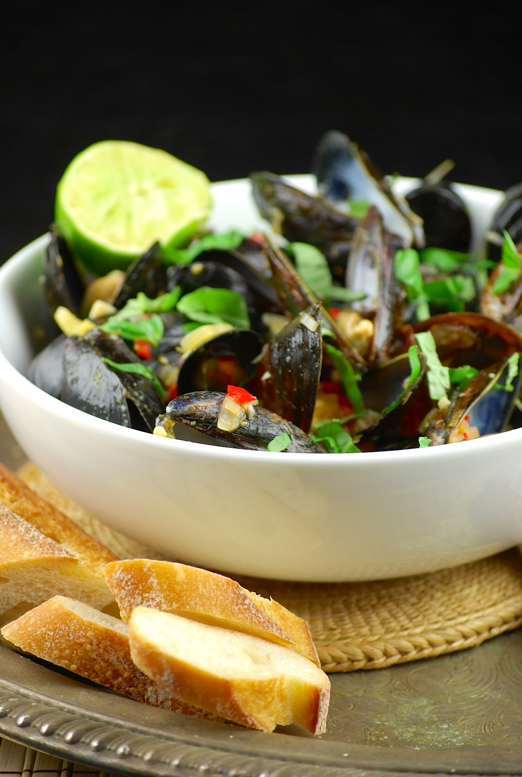 Tasty Trials: Coconut curry mussels and two years gone by