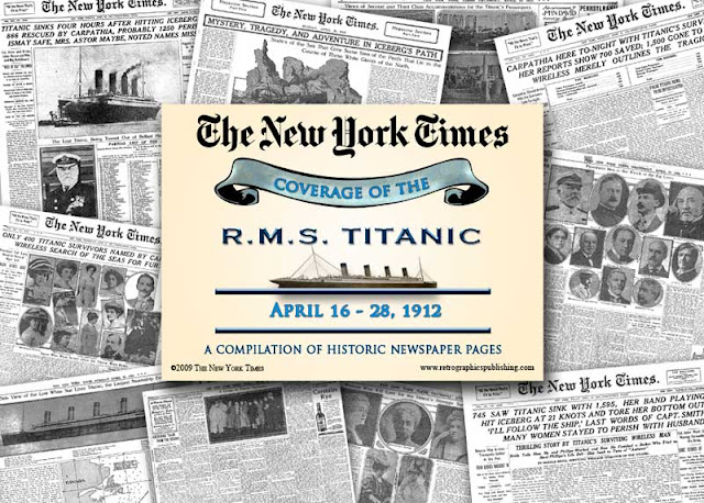 R.M.S. Titanci April 16 - 28, 1912
