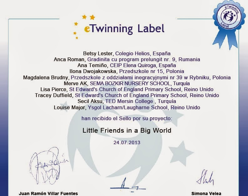 ETWINNING EUROPEAN PROJECT