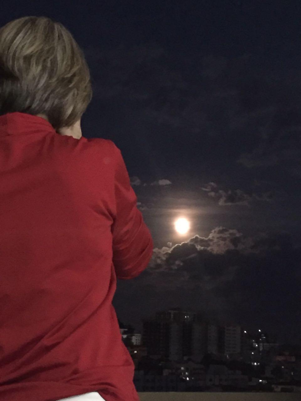 Fotografando a Lua