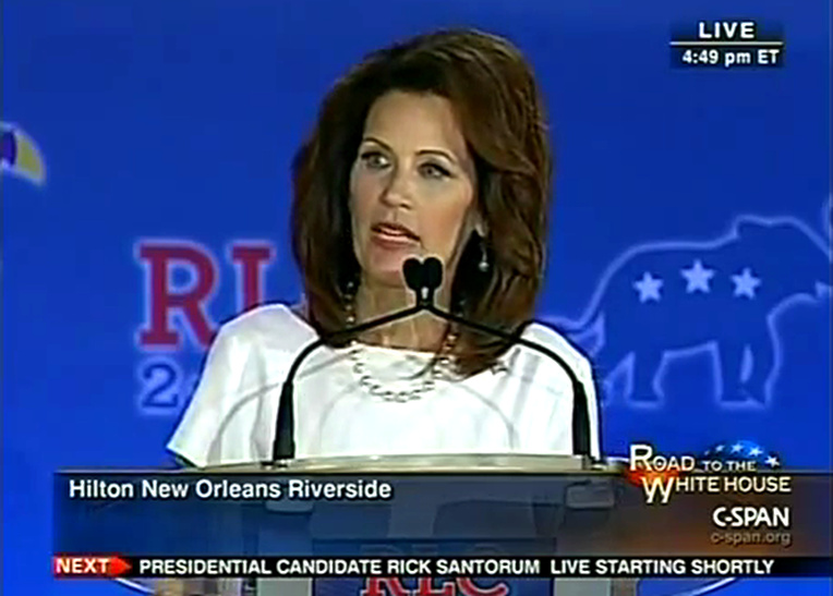 Michele Bachmann Republican Leadership Conference