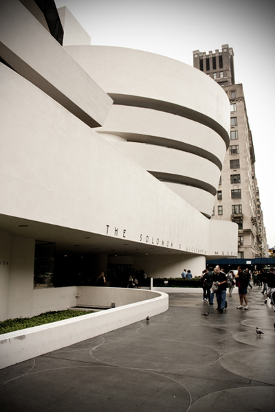 The Guggenheim Museum by Frank Lloyd Wright | Upper East Side | photo - Marika Järv